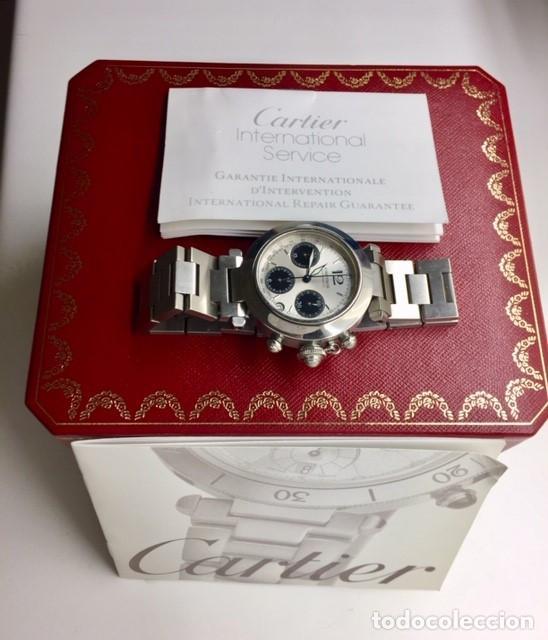 Relojes - Cartier: CARTIER PASHA CHRONO TRICOMPAS DATE-¡¡COMO NUEVO!! - Foto 6 - 71093193