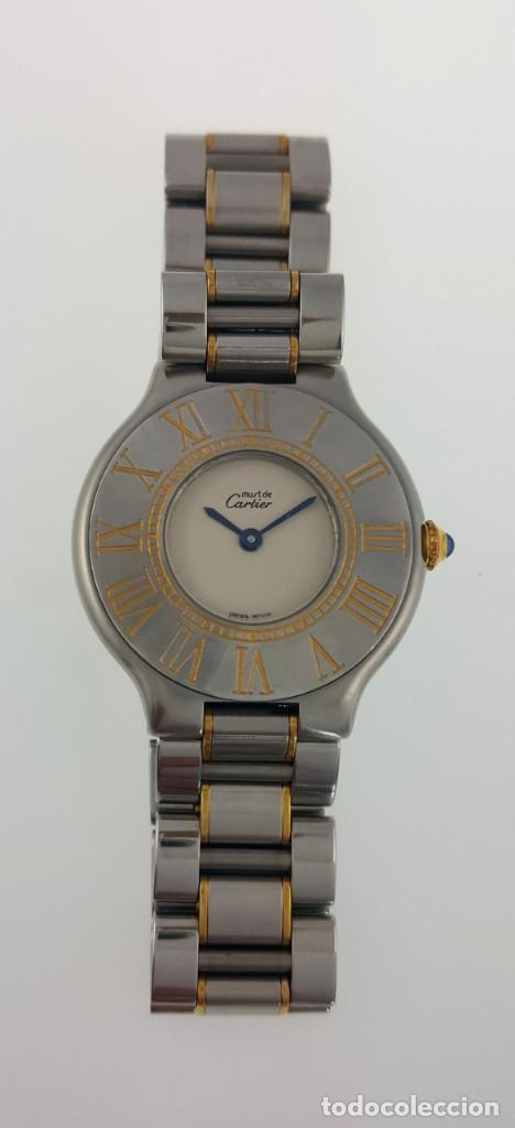 Relojes - Cartier: CARTIER MUST VANDÒME MUJER GRANDE ¡¡COMO NUEVO!! - Foto 3 - 198578930