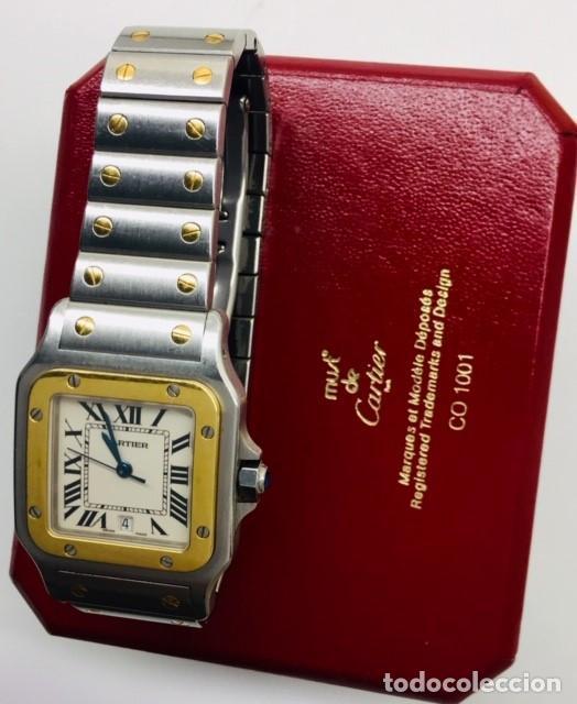 Relojes - Cartier: CARTIER SANTOS-ACERO-ORO-MUJER ¡¡COMO NUEVO!! - Foto 5 - 52491090