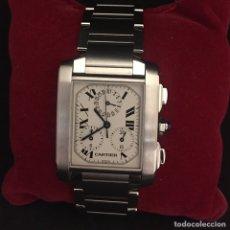 Relojes - Cartier: CARTIER TANK FRANCAISE CHRONOFLEX CRONÓGRAFO 2303. Lote 230838940