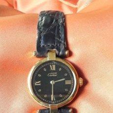 Relojes - Cartier: RELOJ SEÑORA CARTIER MUST VERMEIL. Lote 233017050