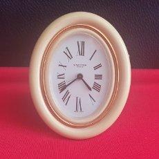 Relógios - Cartier: RELOJ SOBREMESA CARTUER PARIS CARGA MANUAL FUNCIONA PERFECTAMENTE .LAS MEDIDAS ESTA EN FOTOS. Lote 242123210