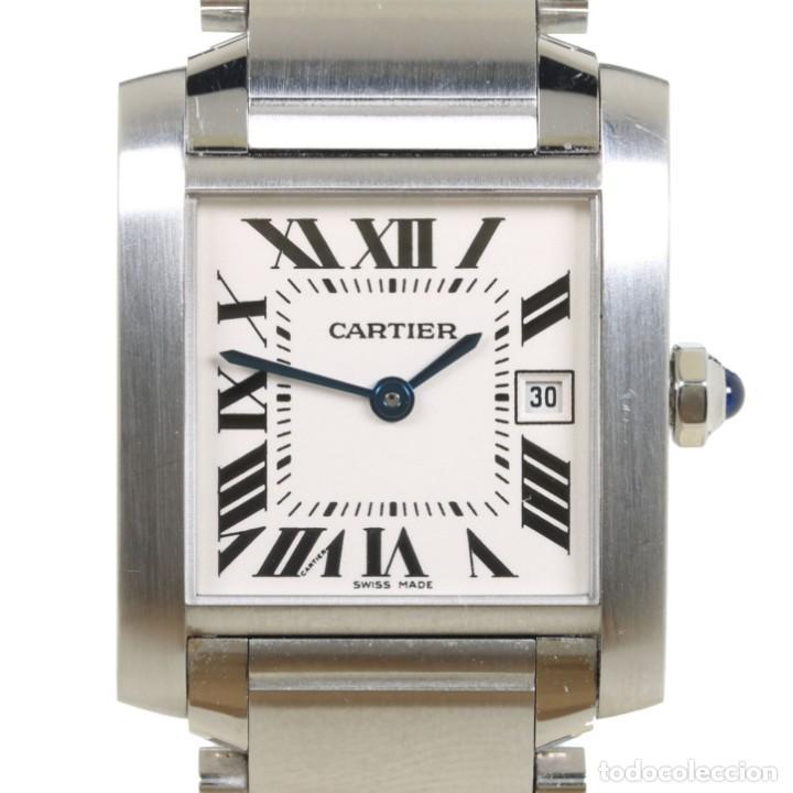CARTIER TANK FRANCAISE REF 2485 ACERO (Relojes - Relojes Actuales - Cartier)