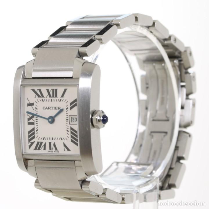 Relojes - Cartier: Cartier Tank Francaise ref 2485 Acero - Foto 2 - 251835390