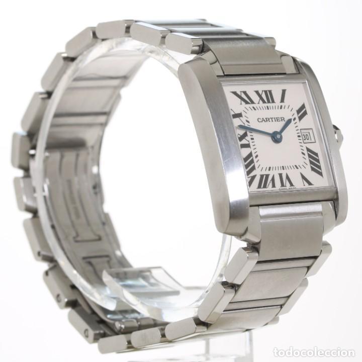 Relojes - Cartier: Cartier Tank Francaise ref 2485 Acero - Foto 3 - 251835390