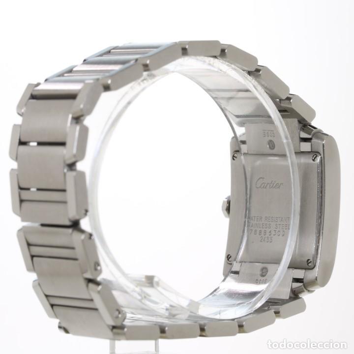 Relojes - Cartier: Cartier Tank Francaise ref 2485 Acero - Foto 6 - 251835390