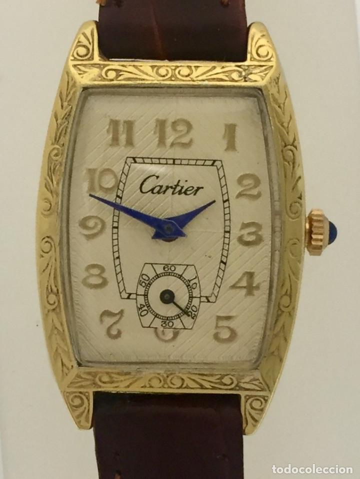 CARTIER VINTAGE PLAQUÉ ORO-MUJER. (Relojes - Relojes Actuales - Cartier)