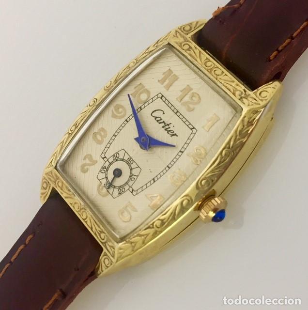 Relojes - Cartier: CARTIER VINTAGE PLAQUÉ ORO-MUJER. - Foto 2 - 253582945