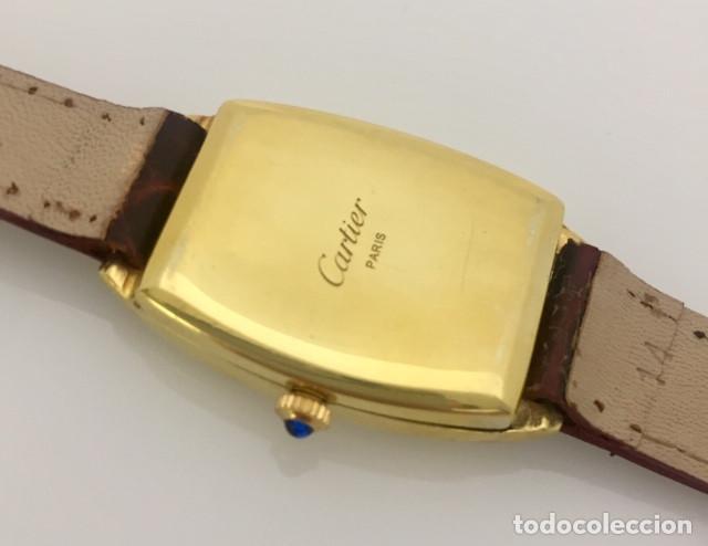 Relojes - Cartier: CARTIER VINTAGE PLAQUÉ ORO-MUJER. - Foto 3 - 253582945