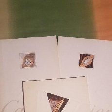 Relojes - Cartier: 3 CATÁLOGOS DE RELOJES CARTIER - AÑO 1991. Lote 255459630