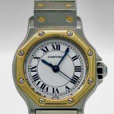 Relojes - Cartier: CARTIER SANTOS OCTOGON-ACERO Y ORO COMO NUEVO.MUJER.. Lote 198579208
