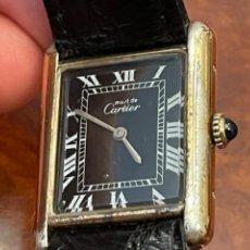 Relojes - Cartier: CARTIER TANK MUST DE SILVER 925 PLAQUE OR G 20M. Lote 260707620
