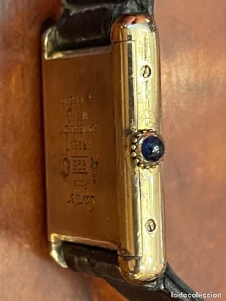 Relojes - Cartier: Cartier Tank Must de Silver 925 CON CAJA Plaque or G 20M - Foto 12 - 260707620