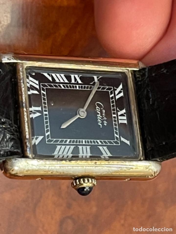 Relojes - Cartier: Cartier Tank Must de Silver 925 CON CAJA Plaque or G 20M - Foto 16 - 260707620