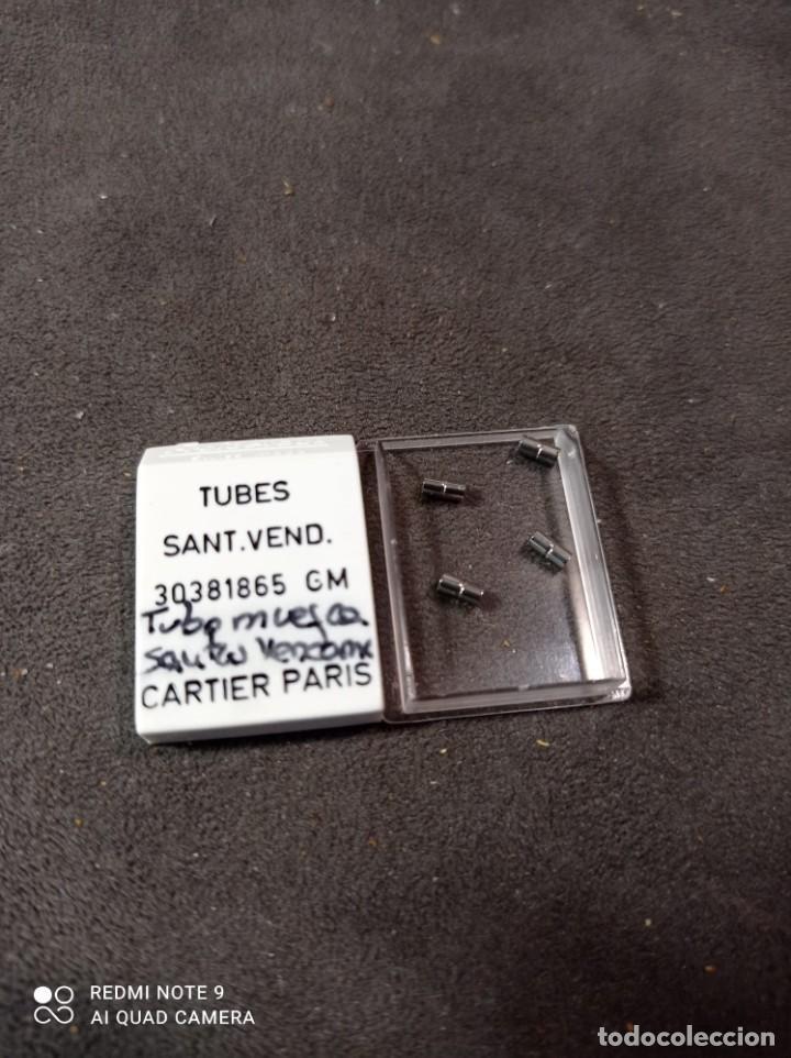TUBOS CON MUESCA CARTIER SANTOS (Relojes - Relojes Actuales - Cartier)