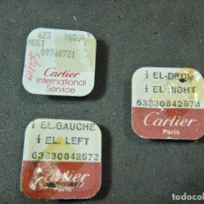Relojes - Cartier: LOTE FORNITURAS CARTIER. Lote 264998139