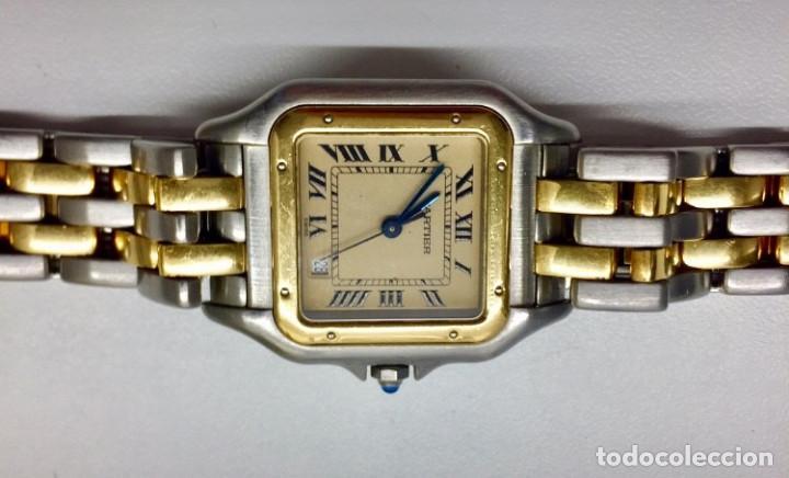Relojes - Cartier: CARTIER PANTHERE DATE-ORO 18KT.ACERO-MUJER GRANDE ¡¡COMO NUEVO!! - Foto 4 - 61160363