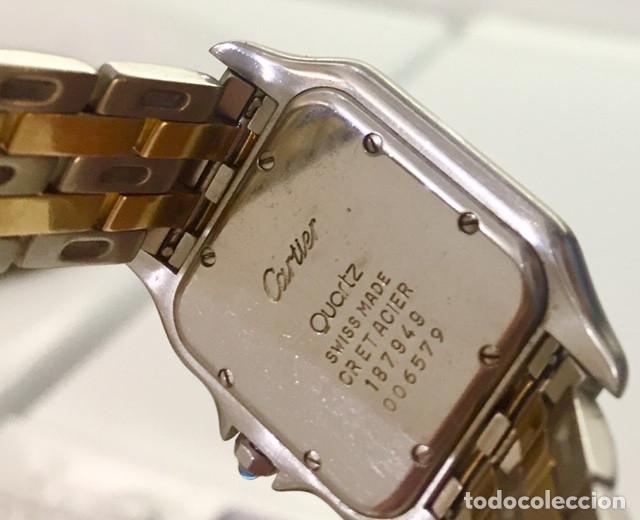 Relojes - Cartier: CARTIER PANTHERE DATE-ORO 18KT.ACERO-MUJER GRANDE ¡¡COMO NUEVO!! - Foto 6 - 61160363