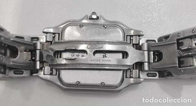 Relojes - Cartier: CARTIER PANTHERE DATE-ORO 18KT.ACERO-MUJER GRANDE ¡¡COMO NUEVO!! - Foto 7 - 61160363