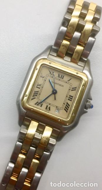 Relojes - Cartier: CARTIER PANTHERE DATE-ORO 18KT.ACERO-MUJER GRANDE ¡¡COMO NUEVO!! - Foto 5 - 61160363