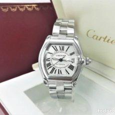 Relojes - Cartier: RELOJ AUTOMÁTICO CARTIER ROADSTER 2510 PARA HOMBRE 38X43MM CON CAJA Y PAPELES - AÑO 2009. Lote 268596044