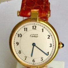 Relojes - Cartier: CARTIER PLAQUÈ ORO 18KT 20 MICRAS-UNISEX ¡¡COMO NUEVO!!. Lote 234293840