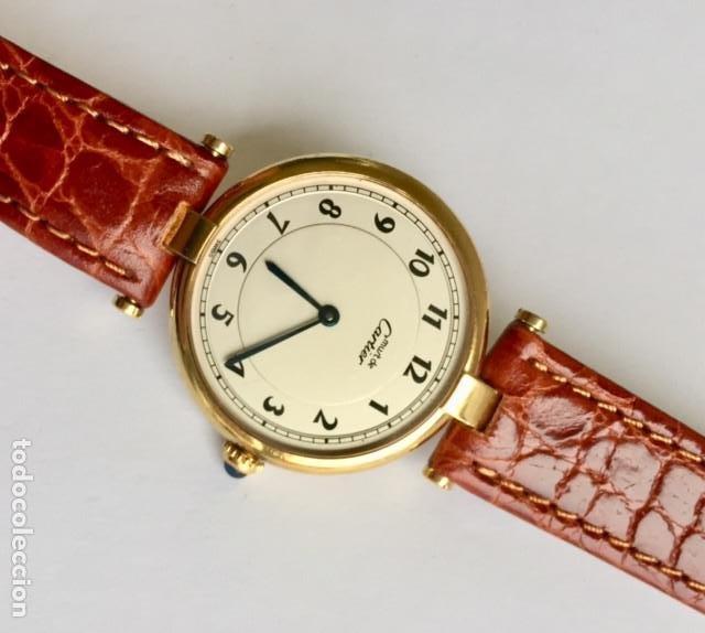 Relojes - Cartier: CARTIER MUST PLAQUÈ ORO 18KT 20 MICRAS-MUJER GRANDE¡¡COMO NUEVO!! - Foto 3 - 234293840