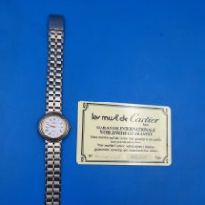 Orologi - Cartier: RELOJ MUJER LE MUST DE CARTIER. Lote 273157373