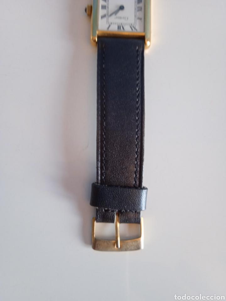 Relojes - Cartier: Reloj Cartier. Paris 925 Argent. Plaque or G 20. ( Funcionando). - Foto 10 - 275946438
