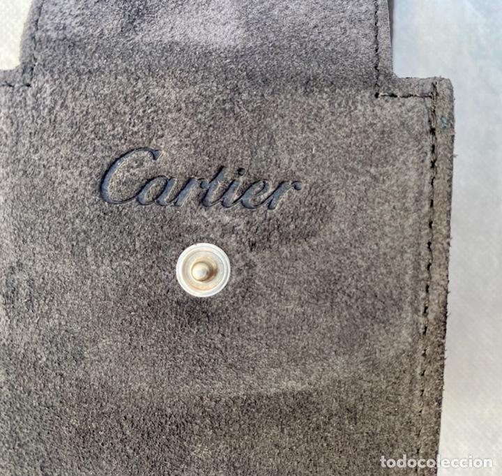 Relojes - Cartier: CARTIER. Estuche de viaje reloj de lujo Cartier - Foto 8 - 276089753