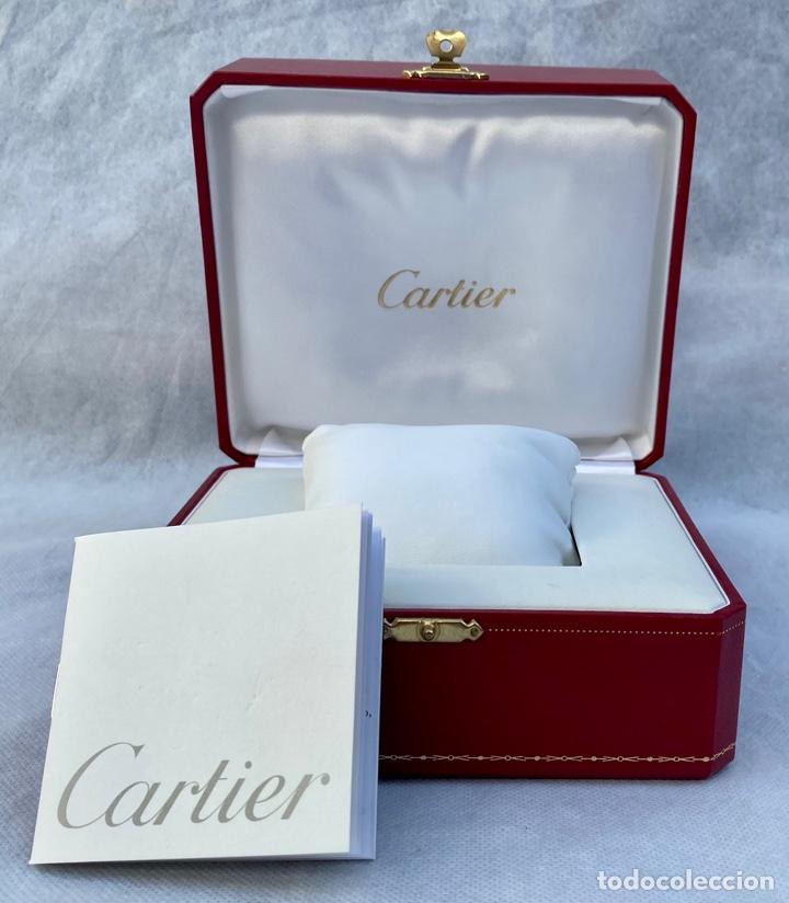 CARTIER. ESTUCHE RELOJ DE LUJO CARTIER PARIS (Relojes - Relojes Actuales - Cartier)