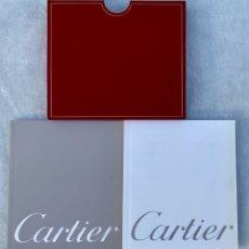 Relojes - Cartier: CARTIER. ESTUCHE DE DOCUMENTOS RELOJ DE LUJO CARTIER PARIS. Lote 276090718
