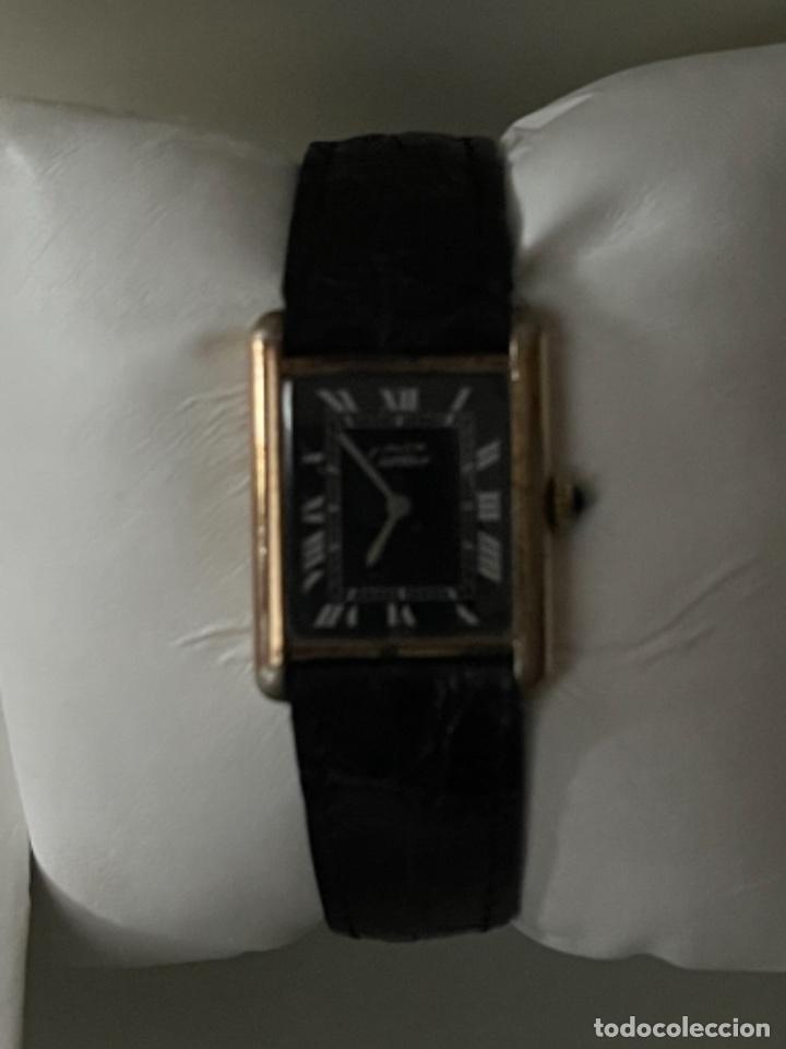 Relojes - Cartier: Cartier Tank Must de Silver 925 CON CAJA Plaque or G 20M - Foto 22 - 260707620