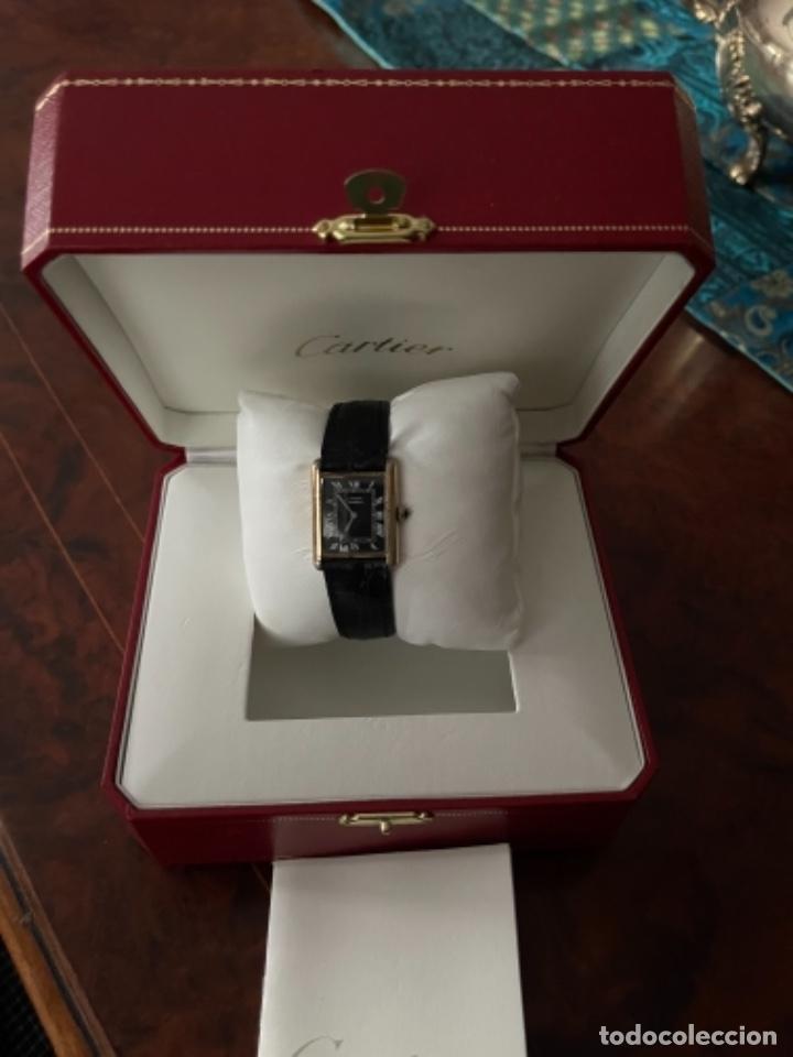 Relojes - Cartier: Cartier Tank Must de Silver 925 CON CAJA Plaque or G 20M - Foto 23 - 260707620