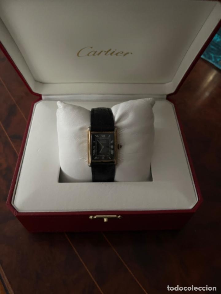 Relojes - Cartier: Cartier Tank Must de Silver 925 CON CAJA Plaque or G 20M - Foto 25 - 260707620