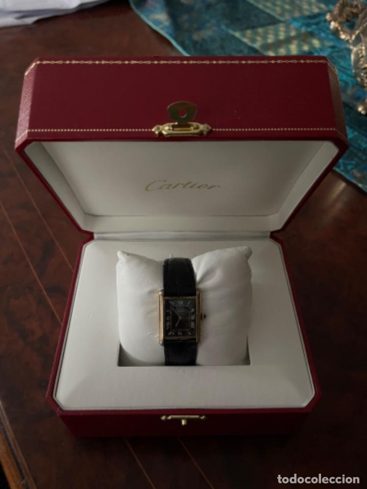 Relojes - Cartier: Cartier Tank Must de Silver 925 CON CAJA Plaque or G 20M - Foto 27 - 260707620