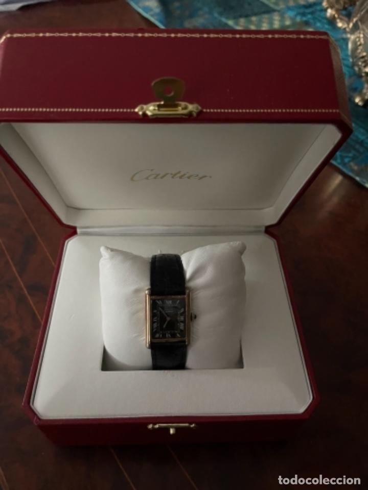 Relojes - Cartier: Cartier Tank Must de Silver 925 CON CAJA Plaque or G 20M - Foto 28 - 260707620