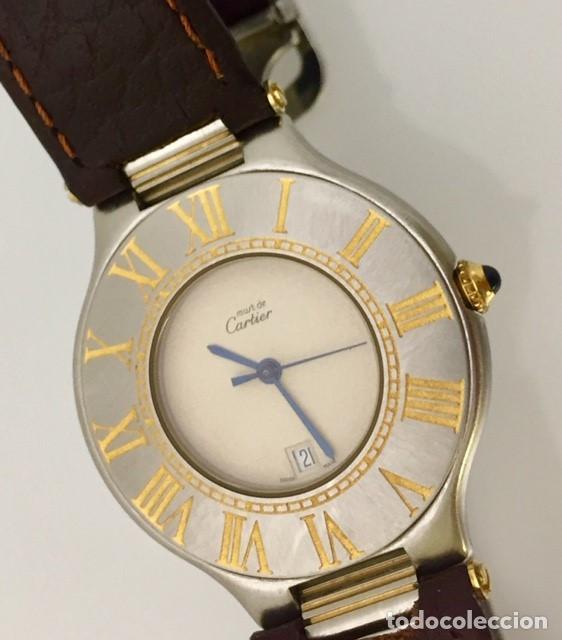 CARTIER MUST RONDE 21 HOMBRE.COMO NUEVO. (Relojes - Relojes Actuales - Cartier)