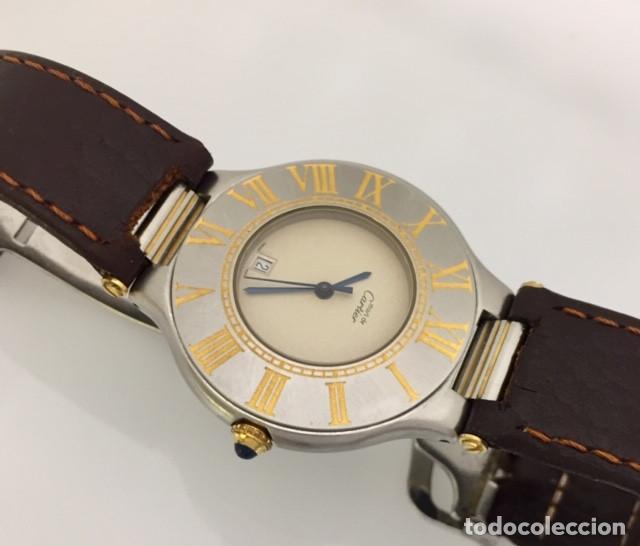 Relojes - Cartier: CARTIER MUST RONDE 21 HOMBRE.COMO NUEVO. - Foto 3 - 286754548