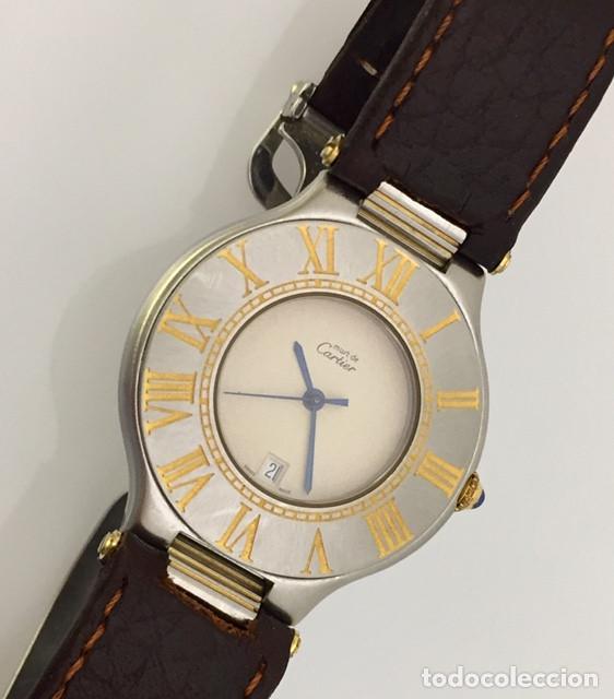 Relojes - Cartier: CARTIER MUST RONDE 21 HOMBRE.COMO NUEVO. - Foto 4 - 286754548