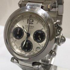 Relojes - Cartier: CARTIER PACHA CRONO TRICOMPAS DATE ¡¡COMO NUEVO!!. Lote 286899078
