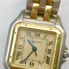 Relojes - Cartier: CARTIER PANTHERE ORO18KT.-ACERO ¡¡COMO NUEVO!!. Lote 286899883