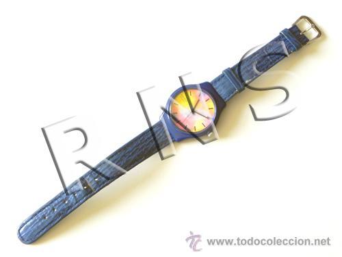 Relojes - Casio: RELOJ DE PULSERA AGUJAS CASIO - ALEGRE DISEÑO - FUNCIONA - DEL ESTILO RELOJES SWATCH - MÁQUINA - Foto 2 - 27307935