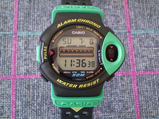 d7643a45259d Reloj vintage casio con pulsómetro jp-200w. nue - Vendido en Venta ...