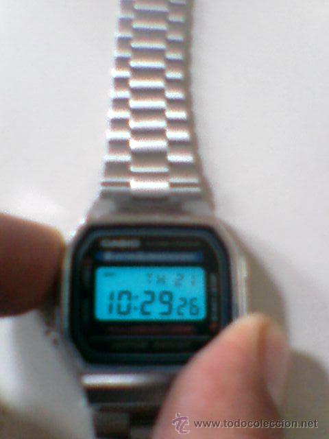 d8b980ad1b6a Relojes - Casio  Reloj Casio retro Electro Luminescence Made in China 1572  A168 - Foto
