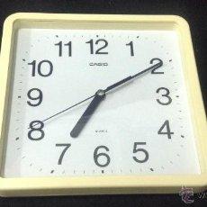 Relojes - Casio: RELOJ PARA PARED MARCA CASIO - CAR20. Lote 40997174