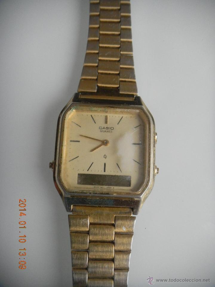 d2417b6a6f80 Antiguo reloj casio quartz digital 308 aq-222 j - Sold at Auction ...