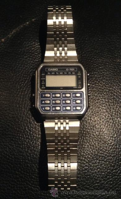 59648f2211ec Antiguo reloj calculadora casio años 70-80 c-70 - Sold through ...