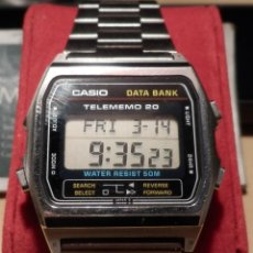 Relojes - Casio: CASIO TELEMEMO 20 MODULO 502 DB-210 W (VINTAGE 1980) (NOS = NEW OLD STOCK). Lote 42276068