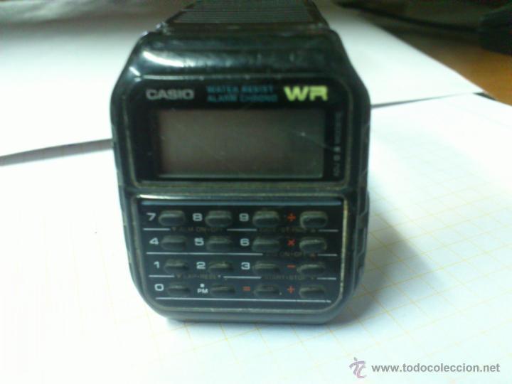 Relojes - Casio: RELOJ CASIO CALCULADORA WR. MADE IN KOREA - Foto 2 - 42438031
